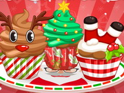 Adorable Christmas Cupcake