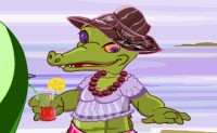 Chic Crocodile Dress Up