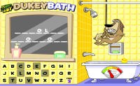 Johnny Test Dukey Bath