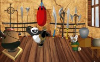 Kung Fu Panda Training Room