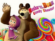 Masha And Bear Candy Shooter