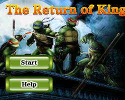 Ninja Turtles The Return Of King