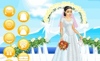 Pretty Romantic Bride Dress Up